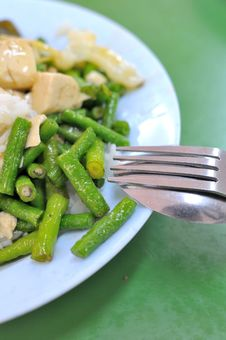 Free Chinese Style Long Beans Cuisine Stock Image - 15953581