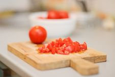 Free Sliced Tomatoes Royalty Free Stock Photo - 15953765