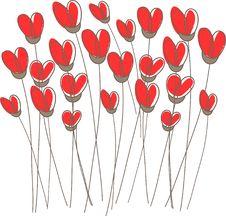 Free Vintage Floral Card Stock Image - 15954531