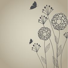 Free Floral Background Royalty Free Stock Photo - 15954595