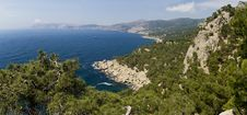 Aya Cape Panorama Stock Image