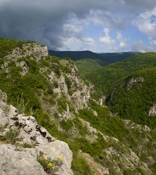Free The Great Canyon In Crimea Stock Image - 15956381