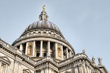 Free St. Paul`s Cathedral, London. Royalty Free Stock Photography - 15956497