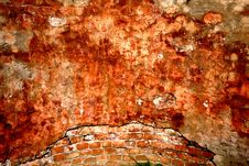 Free Textured Wall With Brick And Stucco Royalty Free Stock Images - 15956519