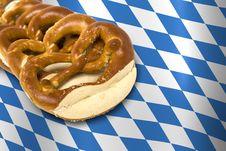 Free German Bavarian Oktoberfest Pretzel Stock Images - 15956774