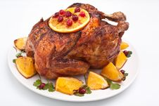 Free Roasted Chicken Stock Photo - 15956830