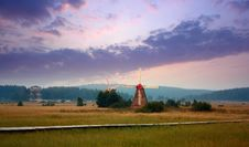 Free Prairie Sunset Stock Image - 15956861