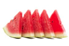 Free Fresh Slices Of Watermelon Stock Images - 15957814