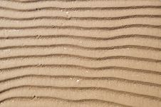 Free Sand Ripples Texture Stock Photo - 15958330