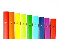 Free Colorful Xylophone Royalty Free Stock Photos - 15958778