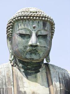 Free Great Buddha Face Stock Image - 15958971