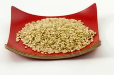 Free Nutritious Brown Rice Royalty Free Stock Photo - 15959035