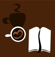 Free Coffee And Notebook Stock Photos - 15959093