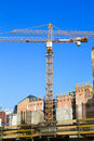 Free Building Crane And Building Under Construction Stock Images - 15962234
