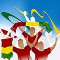 Free Crowd Of Soccer Fan Stock Image - 15965321