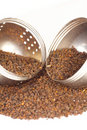Free Loose Black Tea With Strainer Royalty Free Stock Image - 15966536