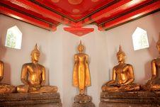 Free Buddha At Prachetuphon Temple Stock Photography - 15960802