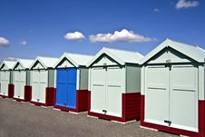 Free Beach Huts Stock Image - 15960871