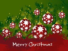 Free Christmas Background Royalty Free Stock Images - 15961239