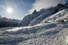 Free Sun And Snow Royalty Free Stock Photography - 15961267