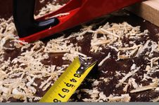 Free Wood Shavings Royalty Free Stock Image - 15961276
