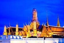 Free Grand Palace And Wat Phra Kaeo Royalty Free Stock Photo - 15961305