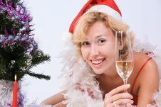 Free Pretty Mrs. Santa Clause Stock Photo - 15961690