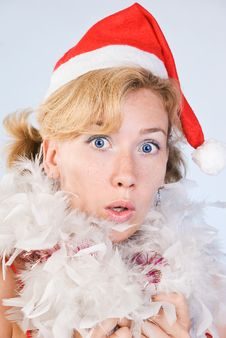 Free Surprised  Santa Claus Stock Photo - 15961930
