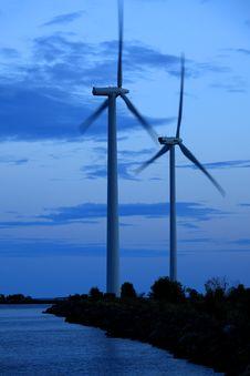 Free Wind Turbines Stock Images - 15962164