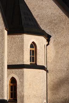Free Church Facade Royalty Free Stock Photo - 15962235