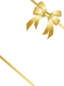 Free Gold Bow Stock Images - 15963294