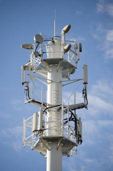 Free Lot Of Transmission Antennas Stock Image - 15963431