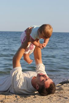 Free Father And Daughter Royalty Free Stock Photo - 15963955