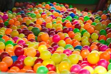 Free Plastic Balls Royalty Free Stock Photography - 15963977