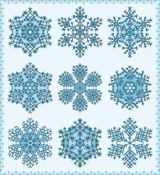Free Snowflakes Stock Images - 15964284