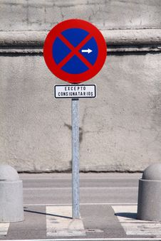 Free Road Sign - No Parking Stock Photos - 15964423