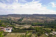 Free View Along The River Tajo, With Fields. Spain Royalty Free Stock Photography - 15964507