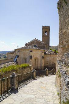 Free Church Of San Miguel Stock Photos - 15966013