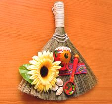 Broom Success Stock Photos