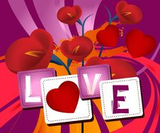 Valentine S Day Concept Royalty Free Stock Images