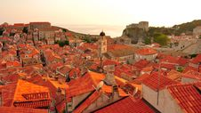 Free Sunset In Dubrovnik, Croatia Stock Photos - 15967423