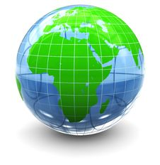 Free Earth Globe Royalty Free Stock Image - 15967456
