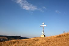 Free Christian Cross On The Hill Royalty Free Stock Image - 15967946