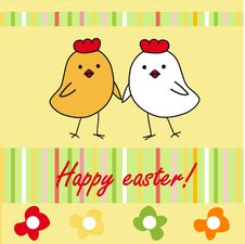 Free Easter Card Royalty Free Stock Photo - 15968805