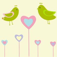 Free Cute  Birds Stock Photography - 15968842
