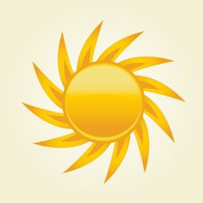 Free Sun Symbol. Stock Photography - 15969182