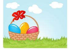Free Easter Card Stock Images - 15969214