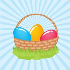 Free Easter Card Royalty Free Stock Photography - 15969227