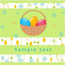 Free Easter Card Royalty Free Stock Image - 15969236