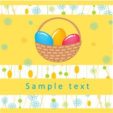 Free Easter Card Royalty Free Stock Image - 15969266